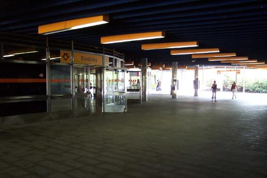 Stodulky Metro Station