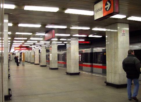 Kacerov Metro Station