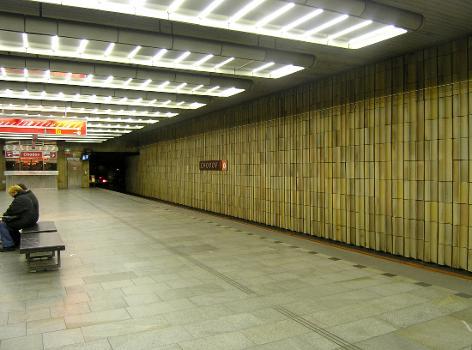 Chodov Metro Station