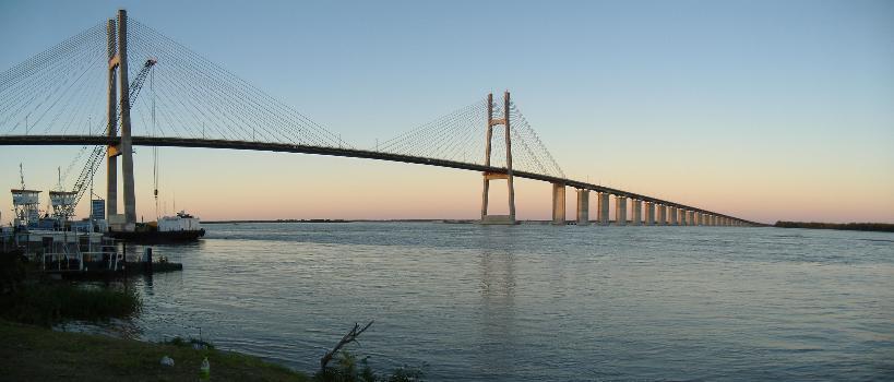 Puente Rosario-Victoria  (Fotograf: Pablo D. Flores)