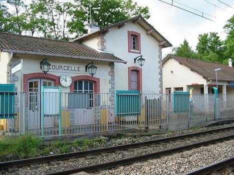 Bahnhof Courcelle-sur-Yvette (Fotograf: ArséniureDeGallium)