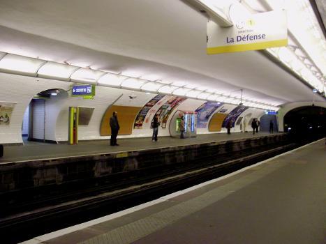 Metrobahnhof Saint-Paul