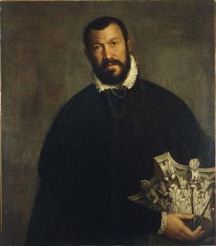 Portrait de Vicenzo Scamozzi par Véronèse (Denver Art Museum, USA)