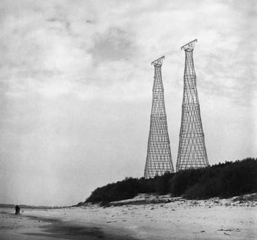 Pylônes à haute tension de Dzerzhinsk