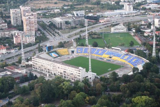 Georgi Asparuhov Stadium in the Levski