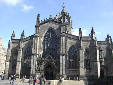 Cathédrale Saint Giles (Edimbourg, Ecosse)(photographe: Andrew Gray)