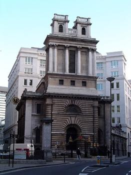 Saint Mary Woolnoth(photographer: ChrisO)