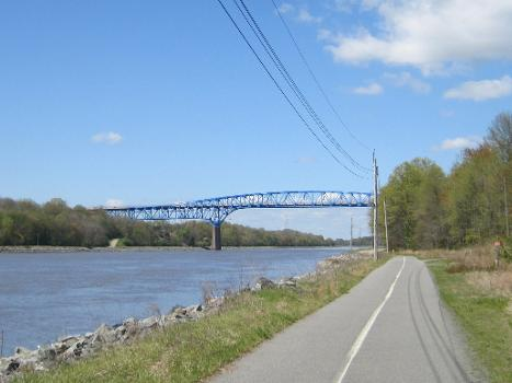 Summit Bridge carrying Delaware Route 71 and DE 896 over the Chesapeake and Delaware Canal
