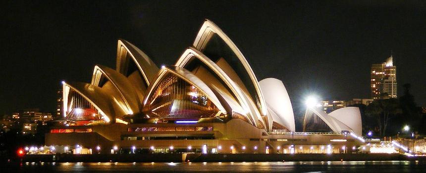 Sydney - Opera House (Fotograf: Adam.J.W.C.)