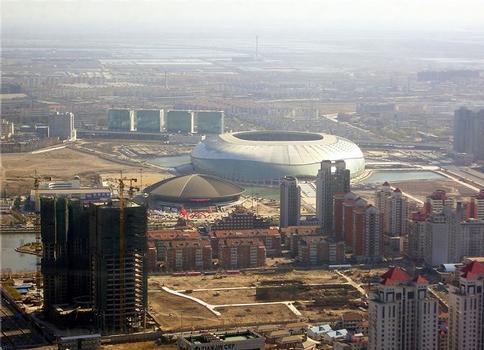 Stadion des Olympiazentrums Tianjin