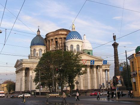 Cathédrale de la trinité - Saint-Petersbourg