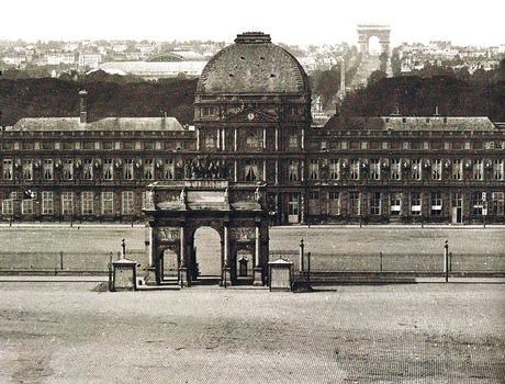 Arc du Triomphe du Carrousel & Palais des Tuileries