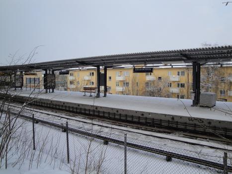 Station de métro Abrahamsberg