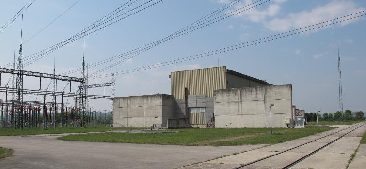Stromrichterhalle der GK Dürnrohr