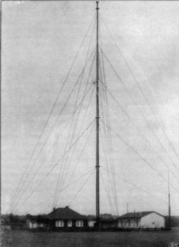 Zentralmast Funkstelle der C. Lorenz AG