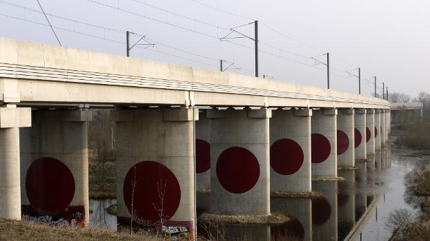 Verbindungsbauwerk der Hochgeschwindigkeitsstrecken TGV Ost-Europa und TGV Ost-Verbindung