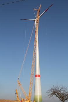 Enercon E-82 Windkraftanlage Ingersheim