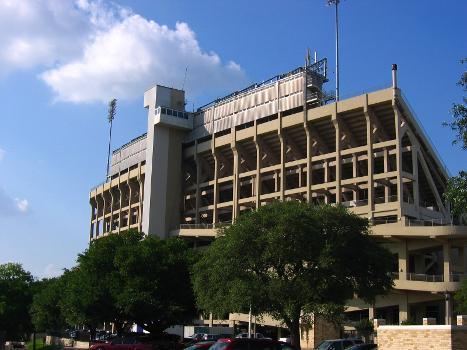 West side of Amon Carter Stadium, campus of TCU