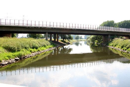 Pont de l'A 59 sur la Wupper