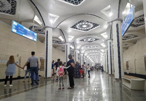 Metrobahnhof Turkiston