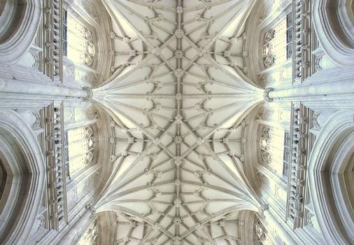Gewölbe der Kathedrale von Winchester