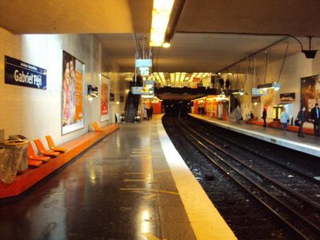 Gabriel Péri Metro Station