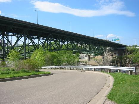 I-35W-Brücke über den Mississippi in Minneapolis