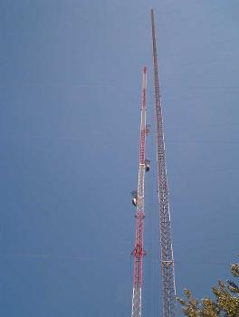 KXJB Tower (Galesburg, 1998)