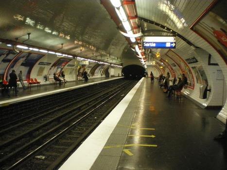 Station de métro Mairie de Saint-Ouen
