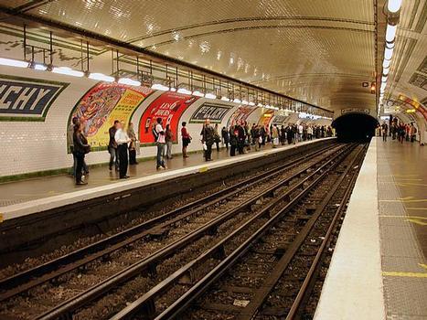Place de Clichy Metro Station
