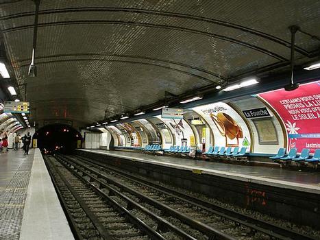 Station de métro La Fourche