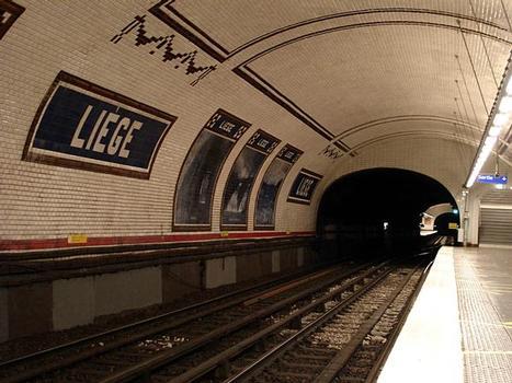 Metrobahnhof Liège