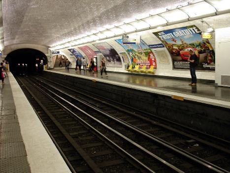 Station de métro Alexandre Dumas