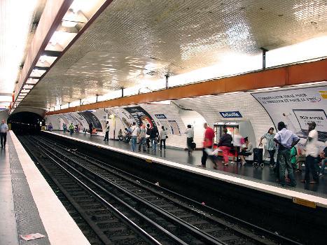 Station de métro Belleville