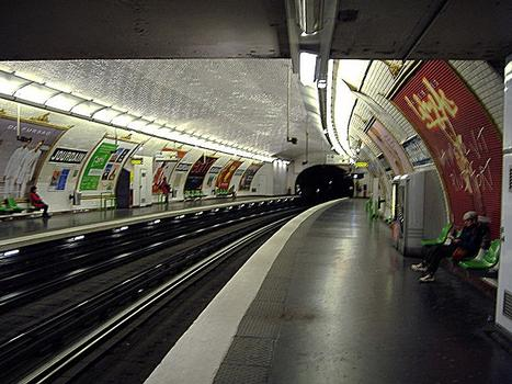 Jourdain Metro Station