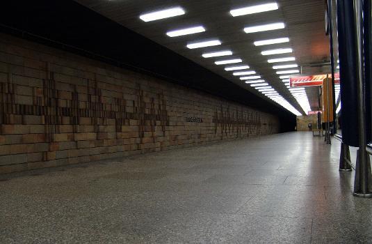 Roztyly Metro Station