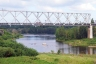 Eisenbahnbrücke Narva