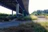 Autobahnviadukt Lully