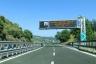 Autobahnabzweig A 11/A 12