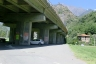 Autobahnbrücke Montjovet