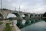 Eisenbahnbrücke Peschiera del Garda