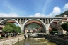 Eisenbahnbrücke über den Sori