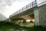Autobahnbrücke Orobia