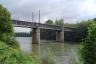 Eisenbahnbrücke Le Pecq
