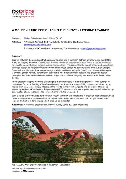 A Golden Ratio for Shaping the Curve – Lessons Learned