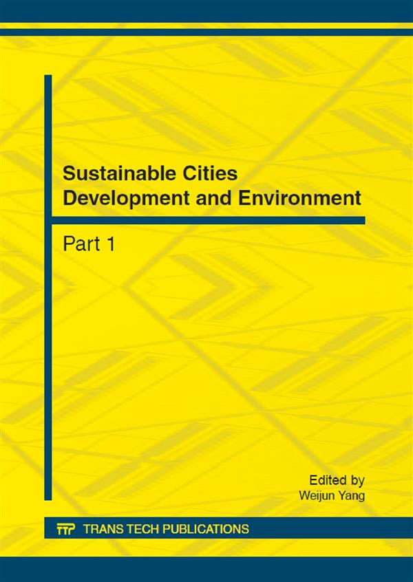 Sustainable Cities Development and Environment [3 vols]