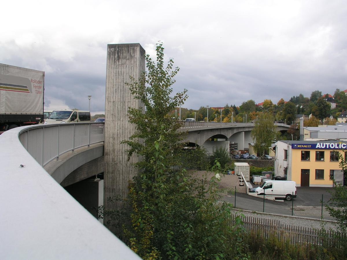 Bahnhofsbrücke Aue