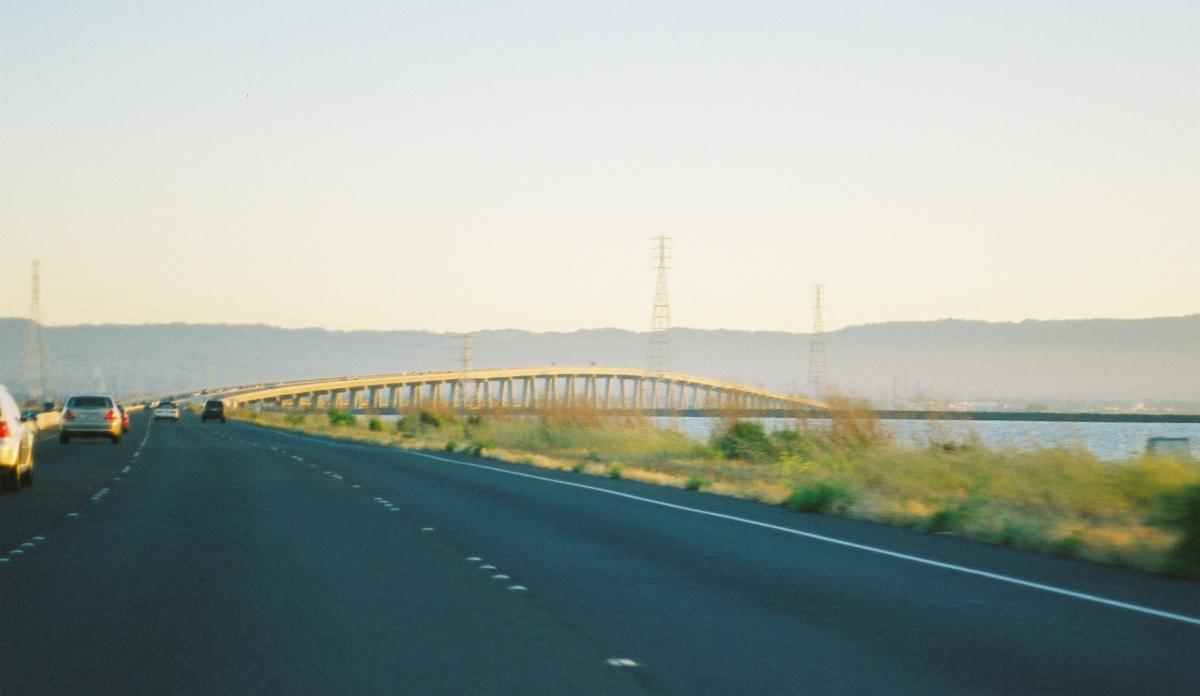 Dumbarton Bridge, Menlo Park, California.