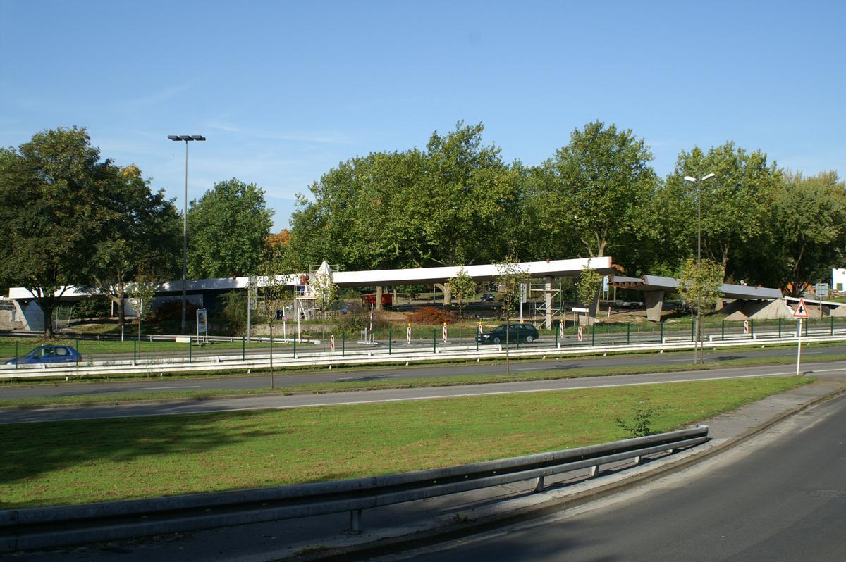 Ardeystrasse Footbridge at Dortmund