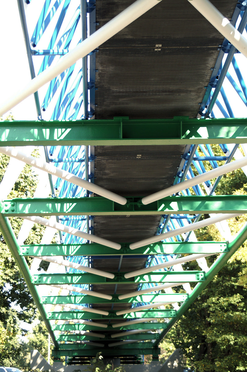 Gelsenwasser Footbridge, Gelsenkirchen.